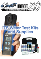 ITS water testing meters and supplies